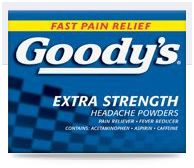 Goody powder coupons